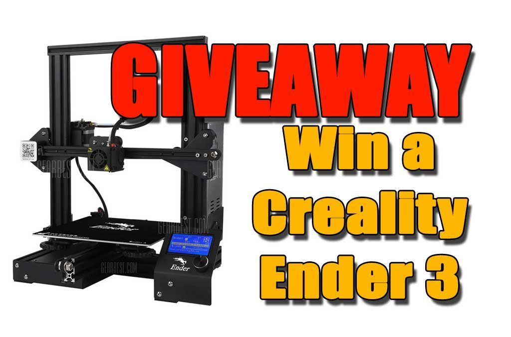 Giveaway Win a Creality Ender3